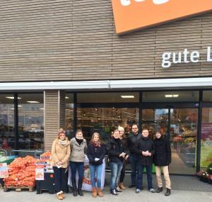 Gemeinsam mit dem RAC Bad Homburg-Taunus sammelten wir über 500 EUR in Lebensmitteln für einen guten Zweck.