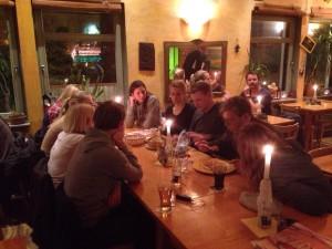 Ein Plaudermeeting mit einigen neuen Gästen bei leckerem mexikanischem Essen in Königstein